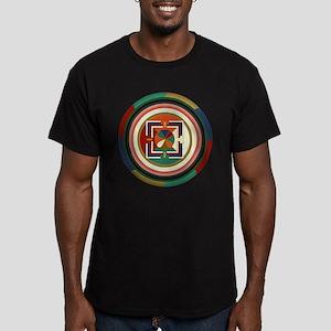 Now Mandala Black T-Shirt