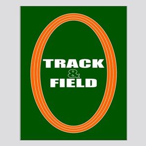 Track and Field Small Poster