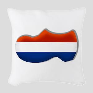 Dutch Clog Woven Throw Pillow