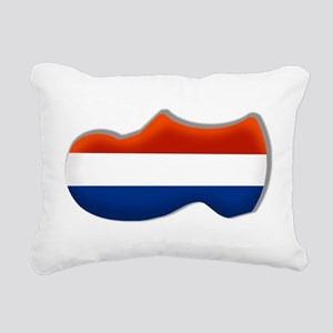 Dutch Clog Rectangular Canvas Pillow