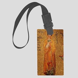 Saint Cecilia Large Luggage Tag