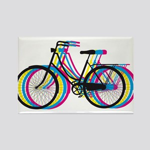 Colorful bicycle silhouette, design for t-shirts M