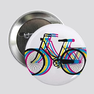 Colorful bicycle silhouette, design for t-shirts 2