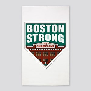 Boston Strong Home Plate 3'x5' Area Rug