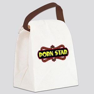 Porn Star Canvas Lunch Bag