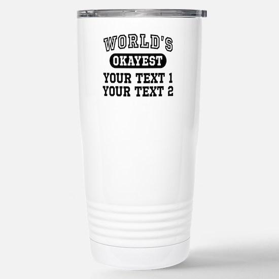 Personalize World's Oka Stainless Steel Travel Mug