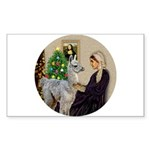 WMom-Llama baby Sticker (Rectangle)