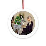 WMom-Llama baby Ornament (Round)