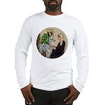 WMom-Llama baby Long Sleeve T-Shirt