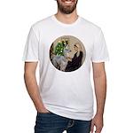 WMom-Llama baby Fitted T-Shirt