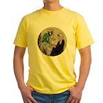WMom-Llama baby Yellow T-Shirt