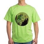 WMom-Llama baby Green T-Shirt