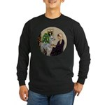 WMom-Llama baby Long Sleeve Dark T-Shirt