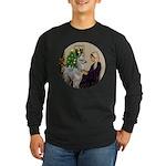 WMom-Llama baby Long Sleeve Dark T-Shirt