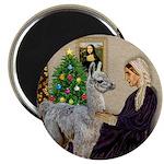 WMom-Llama baby Magnet