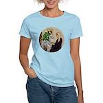 WMom-Llama baby Women's Light T-Shirt