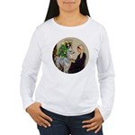 WMom-Llama baby Women's Long Sleeve T-Shirt