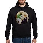 WMom-Llama baby Hoodie (dark)