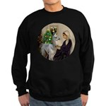 WMom-Llama baby Sweatshirt (dark)