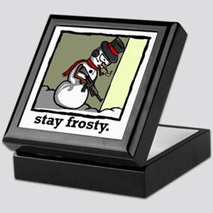 stay frosty final Keepsake Box