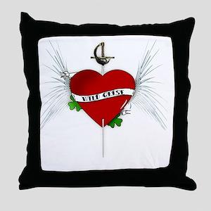 wildgeese2 Throw Pillow