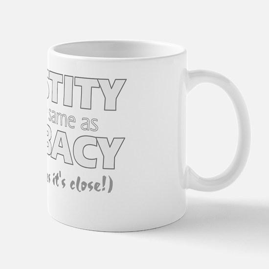 2-celibacy Mug