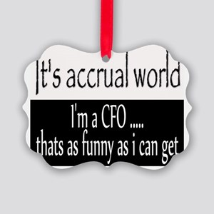 CFO Picture Ornament