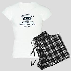 Personalize Family Reunion Women's Light Pajamas