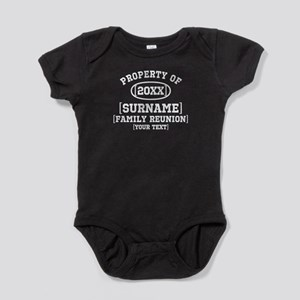 Personalize Family Reunion Baby Bodysuit