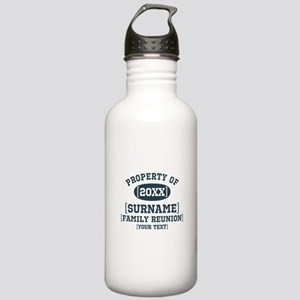 Personalize Family Reunion Stainless Water Bottle