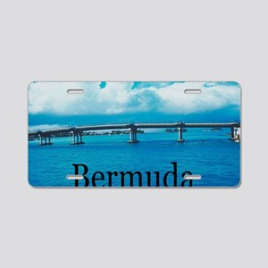 Bermuda2 Aluminum License Plate