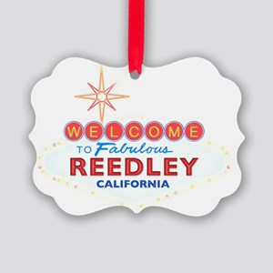 REEDLEY Picture Ornament