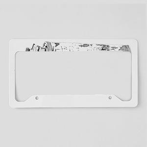ecfilms-4black License Plate Holder