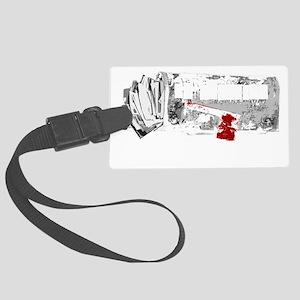 ecfilms-4black Large Luggage Tag