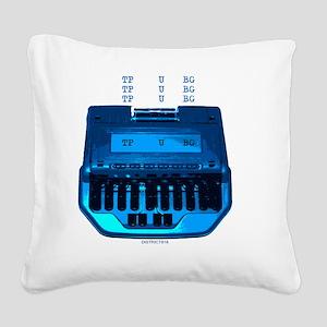 fuck Square Canvas Pillow