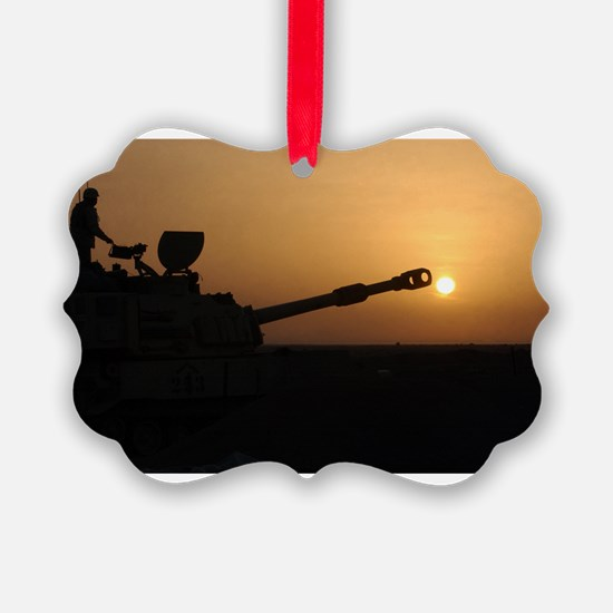 US Army Field Artillery Ornament