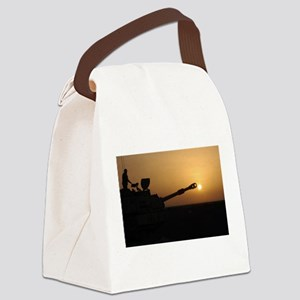 US Army Field Artillery Canvas Lunch Bag