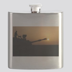 US Army Field Artillery Flask