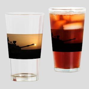 US Army Field Artillery Drinking Glass