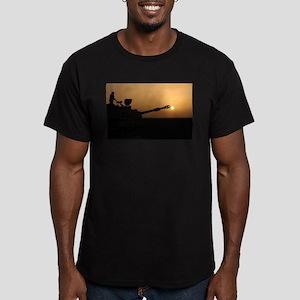 US Army Field Artillery Men's Fitted T-Shirt (dark
