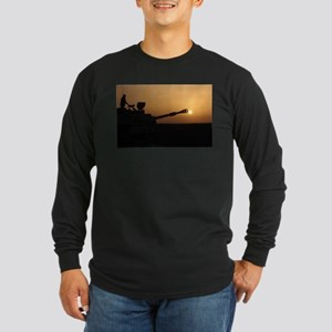 US Army Field Artillery Long Sleeve Dark T-Shirt