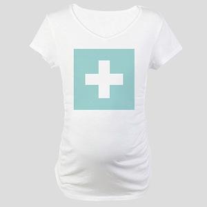 GREEN CROSS Maternity T-Shirt