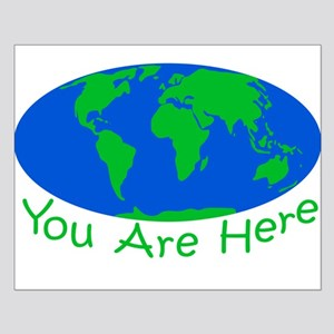 Earth Day You Are Here Posters