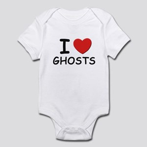 I love ghosts Infant Bodysuit