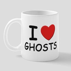 I love ghosts Mug