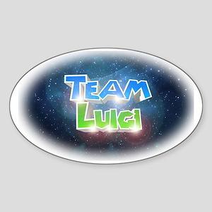 teamluigi Sticker (Oval)