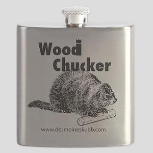 2-woodchucker-tee Flask