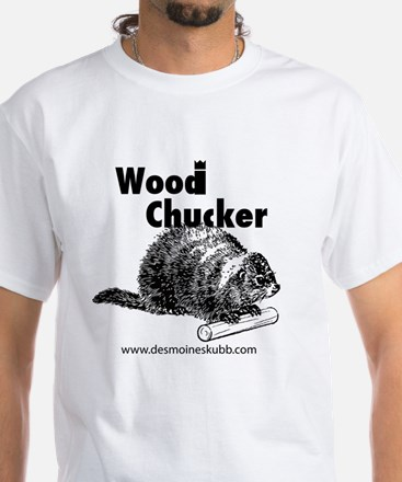 2-woodchucker-tee White T-Shirt