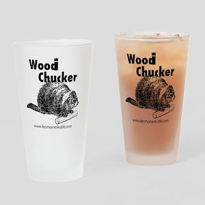 2-woodchucker-tee Drinking Glass