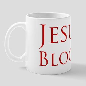 jesus blood Mug